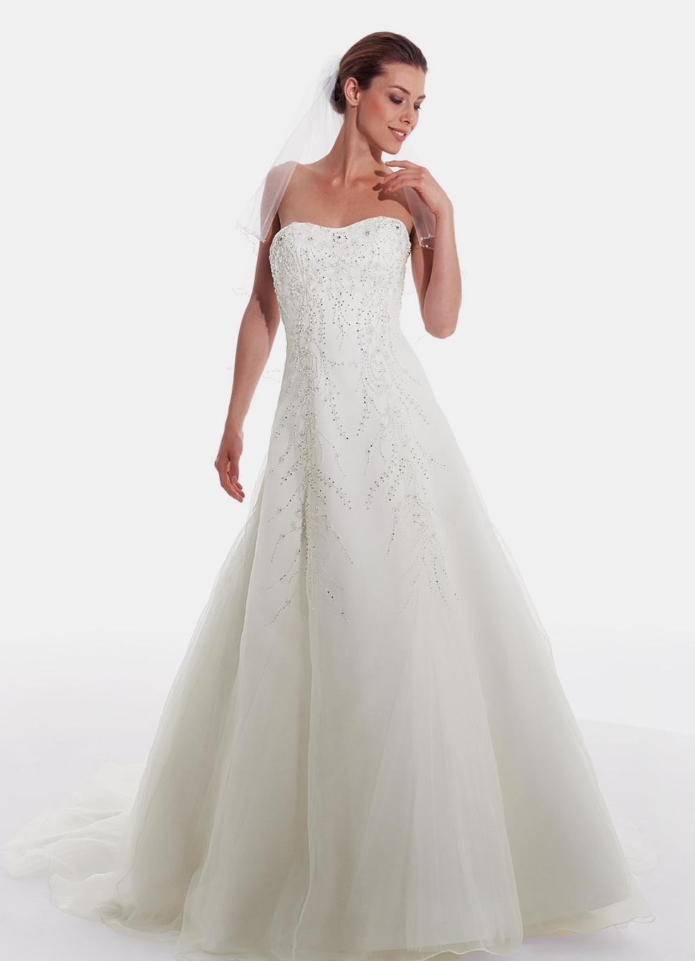 Hochzeitskleid Silvia 715 - Typ: Brautkleid Silvia 715